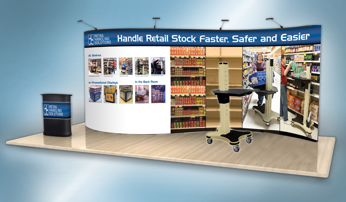 Retail Handling Solutions Booth